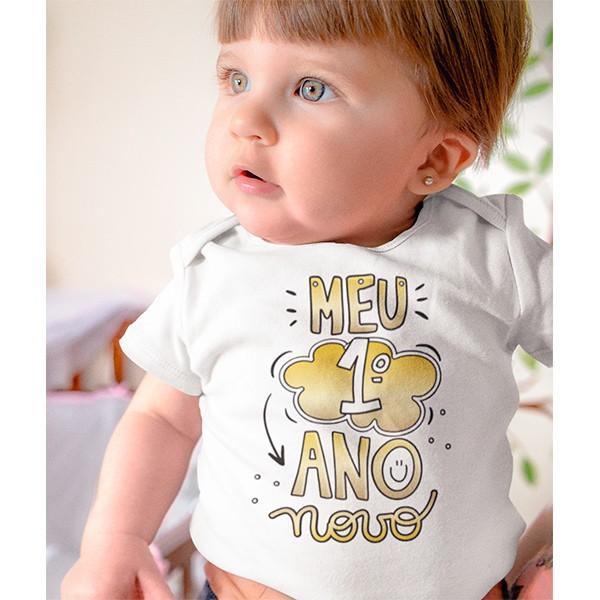 Body de Bebê Ano Novo - CA1132