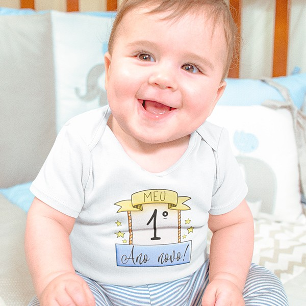 Body de Bebê Ano Novo - CA1137