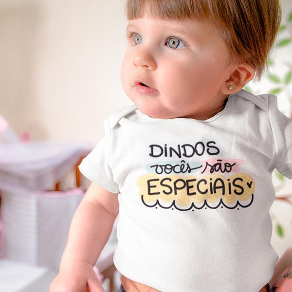 Body de Bebê Dindos Vocês São Especiais - CA1243