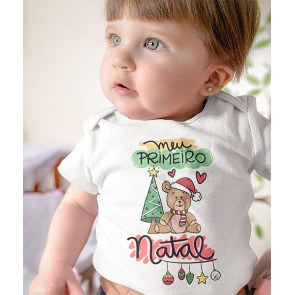 Body de Bebê Natal - CA1042