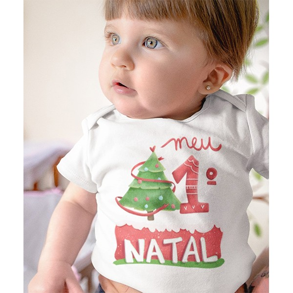 Body de Bebê Natal - CA1044