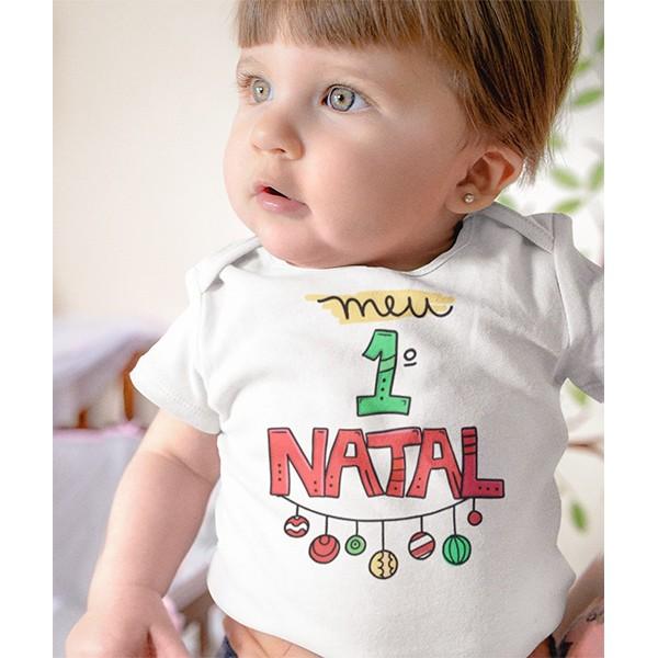 Body de Bebê Natal - CA1048