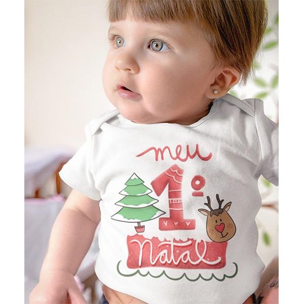 Body de Bebê Natal - CA1049