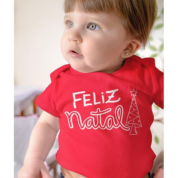 Body de Bebê Natal - CA1050