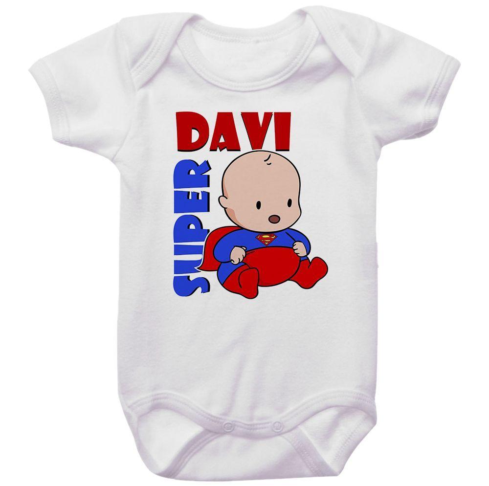 Body Personalizado Super Bebê
