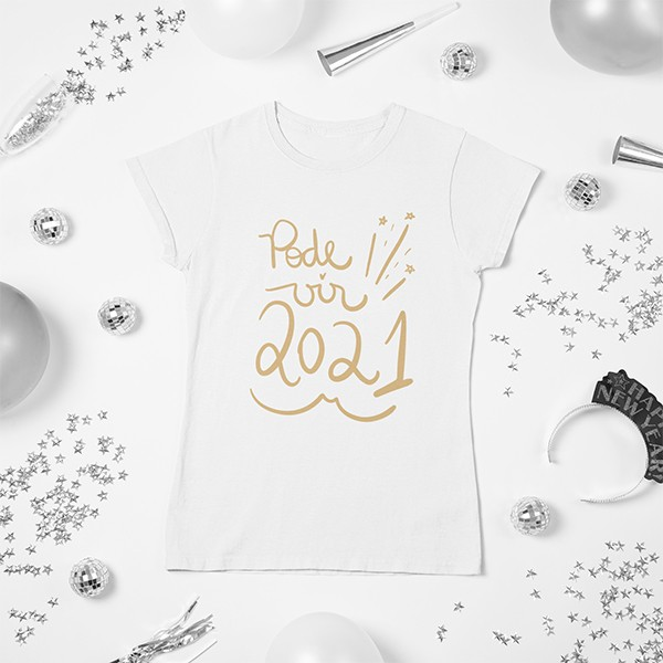 Camiseta BabyLook Ano Novo - CA1140