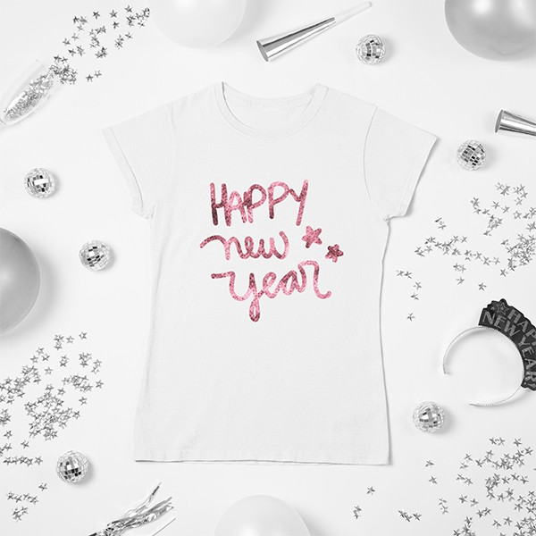 Camiseta BabyLook Ano Novo - CA1149