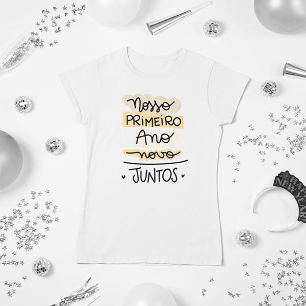Camiseta BabyLook Ano Novo - CA1150