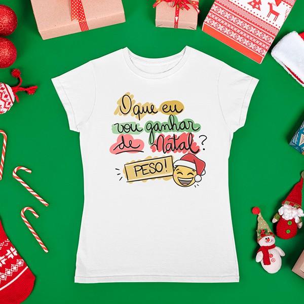 Camiseta BabyLook Natal - CA1083