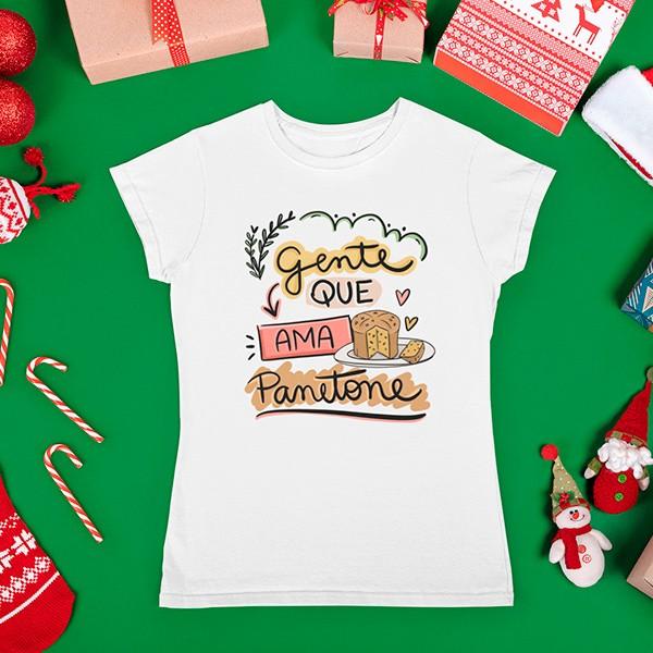 Camiseta BabyLook Natal - CA1088