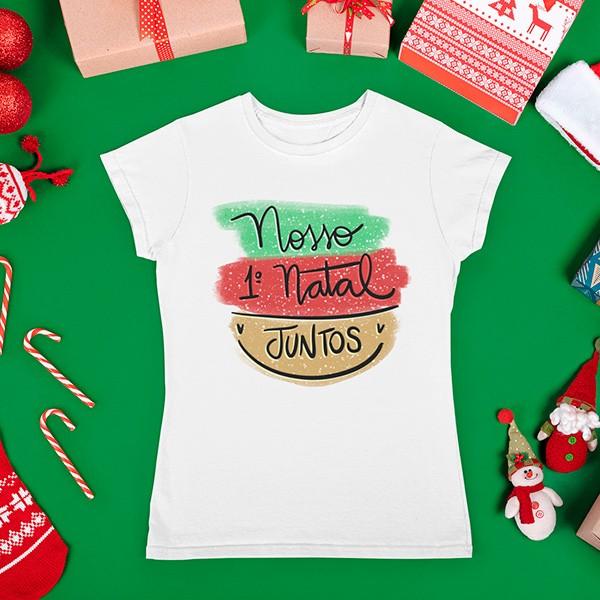 Camiseta BabyLook Natal - CA1090