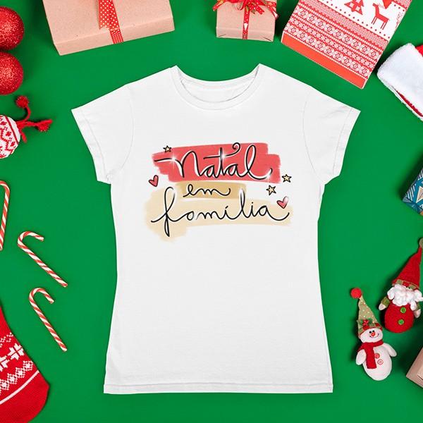 Camiseta BabyLook Natal - CA1091