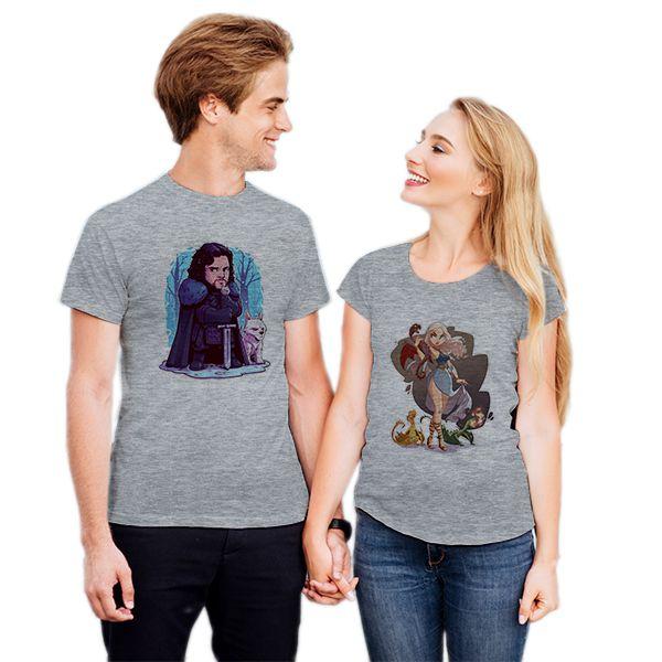 Camiseta Casal Game Of Thrones CA0739