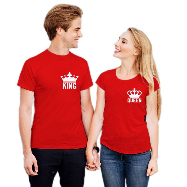 Camiseta Casal King Queen CA0735