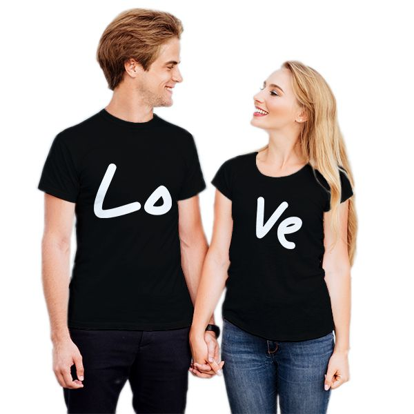 152cdf21f8 Camiseta Casal Love CA0733 Empório Camiseteria