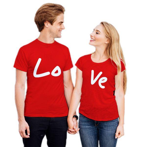 Camiseta Casal Love CA0733
