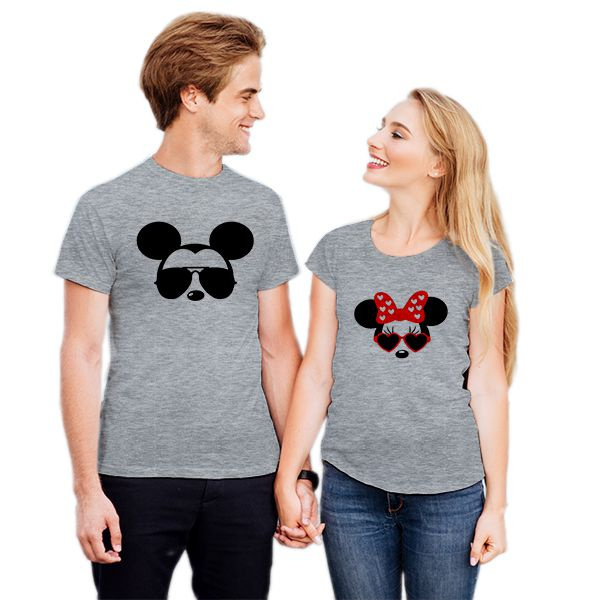 Camiseta Casal Mickey e Minnie CA0728