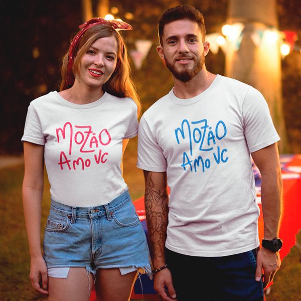 Camiseta Casal Mozão - CA1296