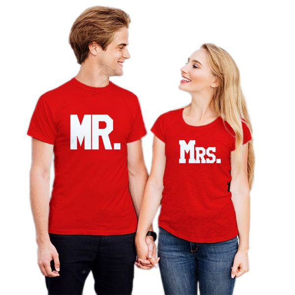 Camiseta Casal Mr e Mrs CA0726