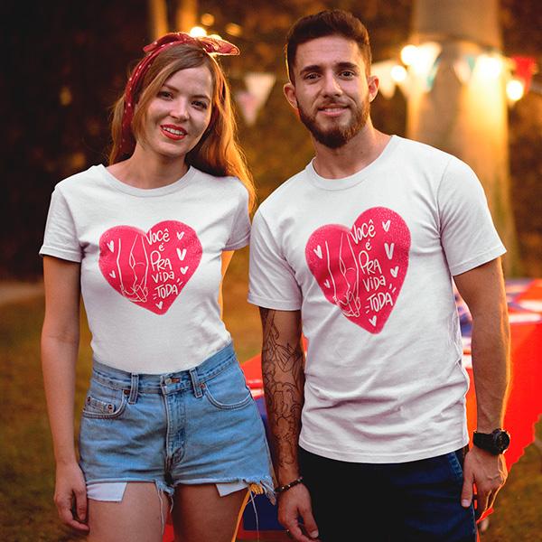 Camiseta Casal Pra toda a Vida - CA1298