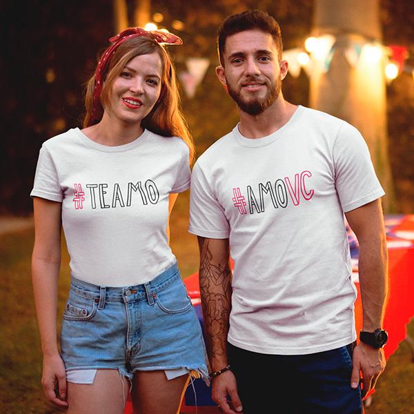 Camiseta Casal Te Amo - CA1303