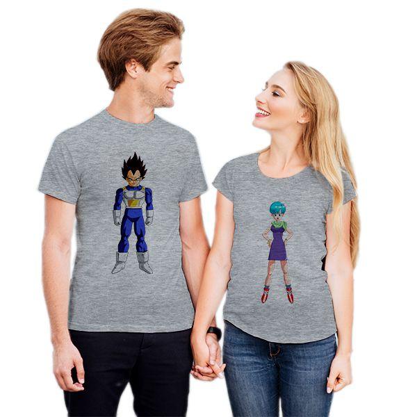 Camiseta Casal Vegeta e Bulma CA0719