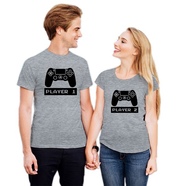 Camiseta Casal Vídeo Game PS4 CA0832