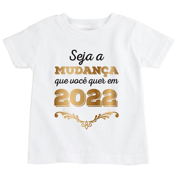 Camiseta Infantil Ano Novo CA0922