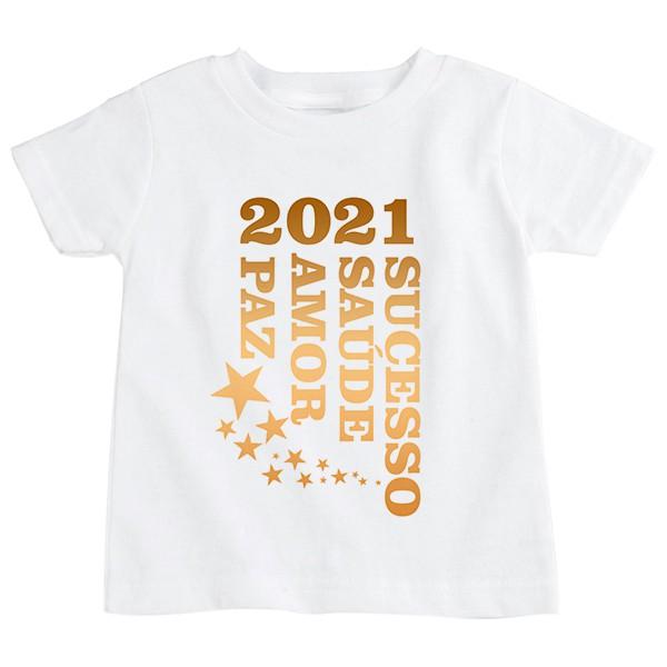 Camiseta Infantil Ano Novo CA0926