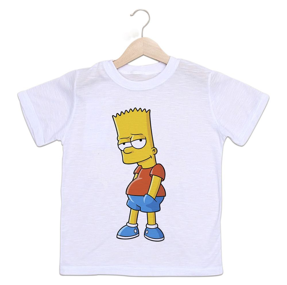 808da83eb9 Camiseta Infantil Bart Simpsons - Empório Camiseteria