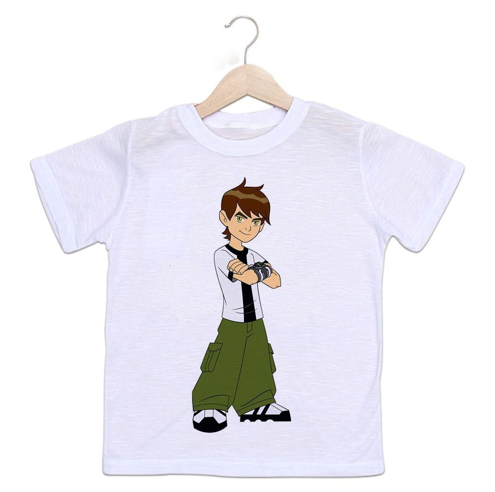 Camiseta Infantil Ben10 Desenho