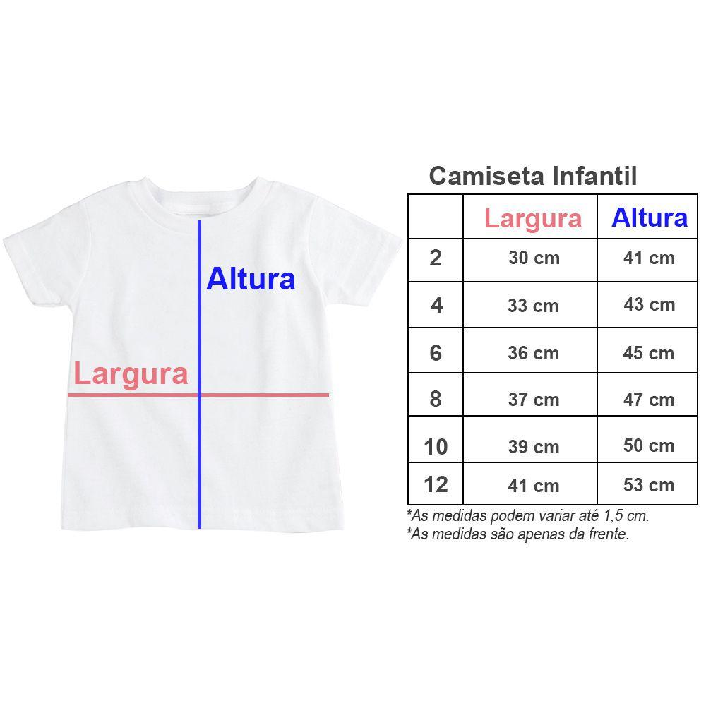 Camiseta Infantil Personalizada Barbie Laço Preto CA0921
