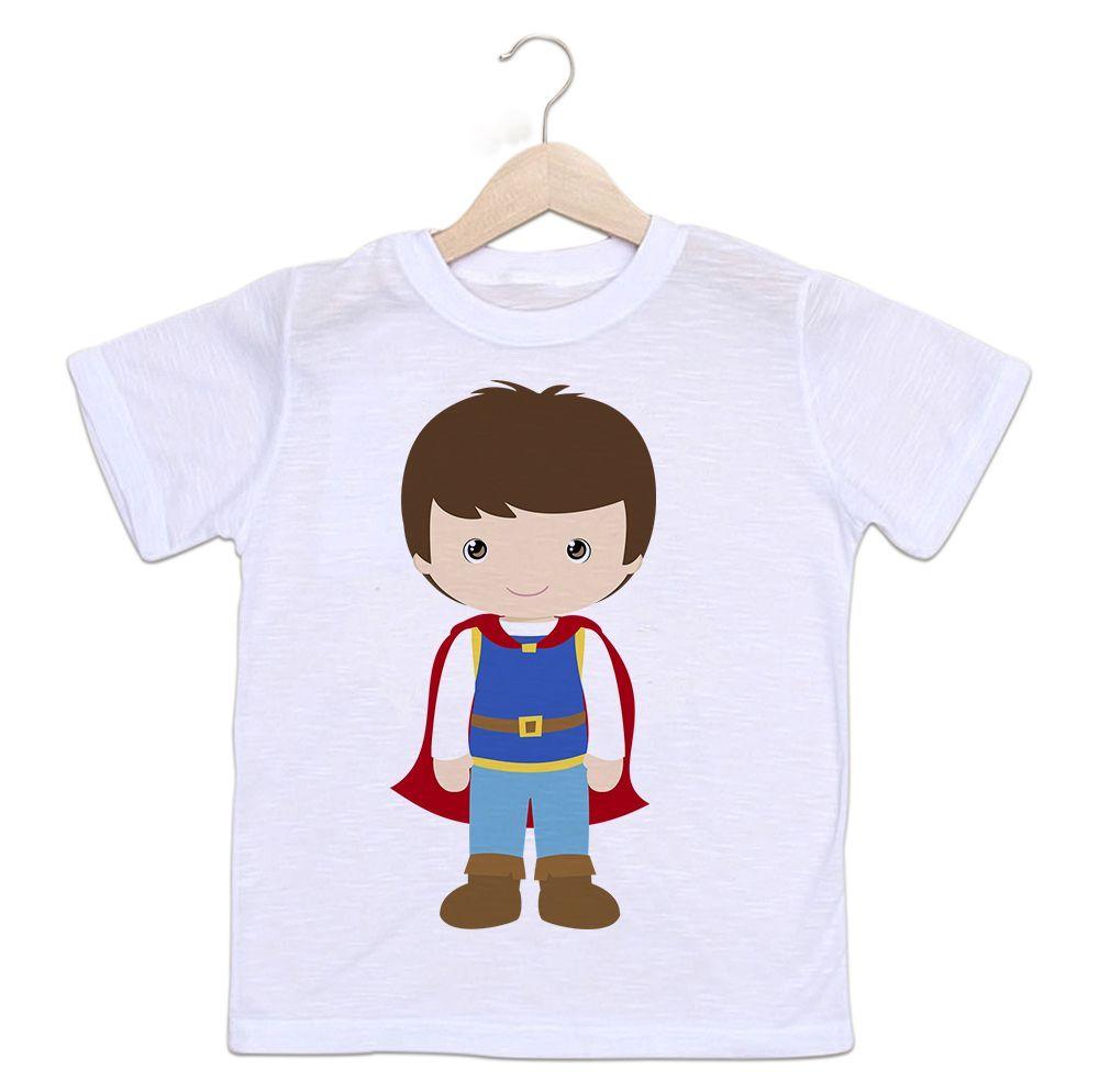 Camiseta Infantil Príncipe