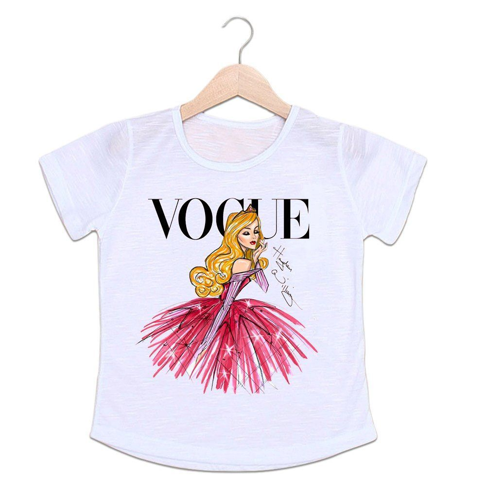 Camiseta Infantil Vogue