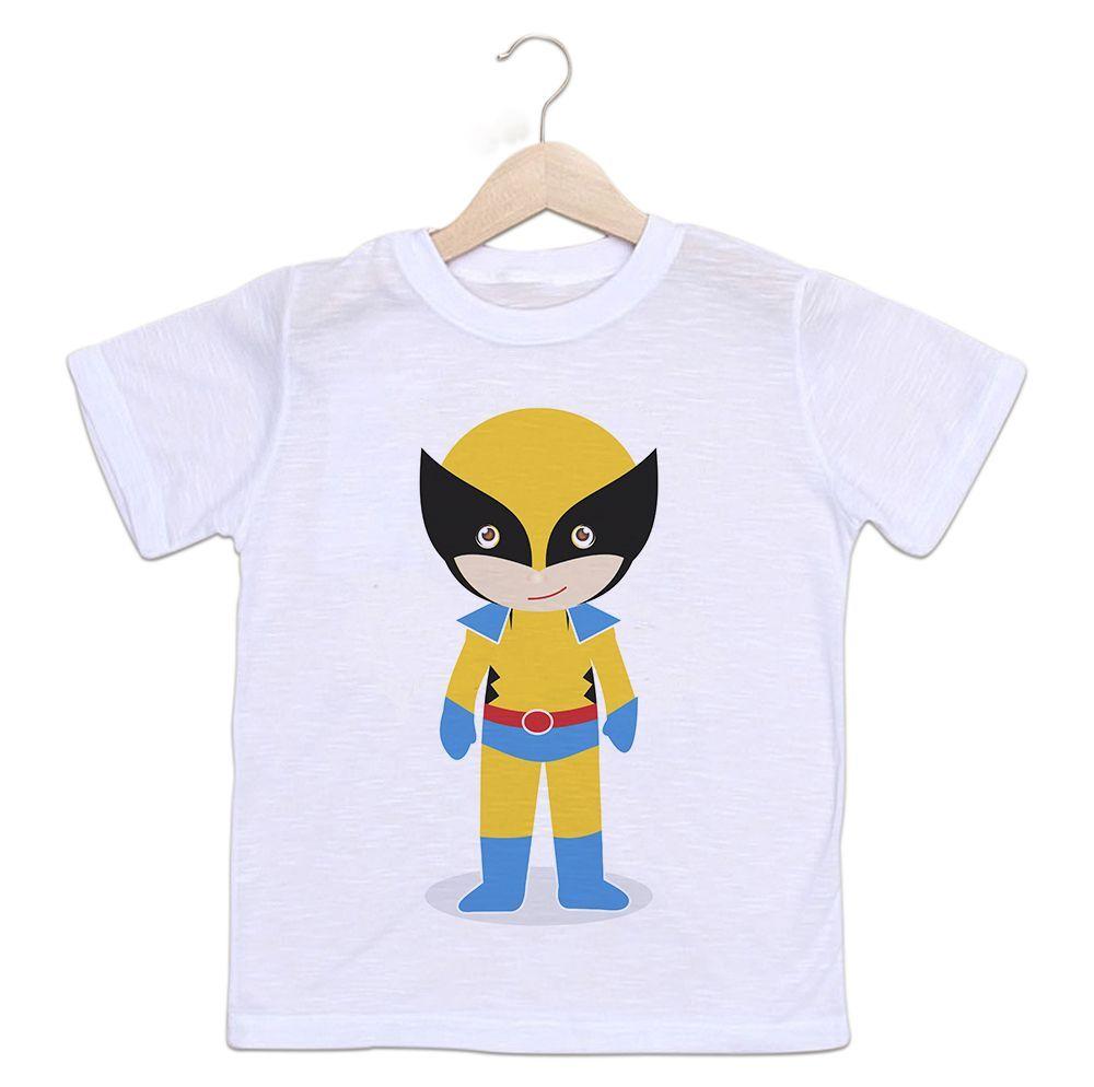 Camiseta Infantil Wolverine Baby