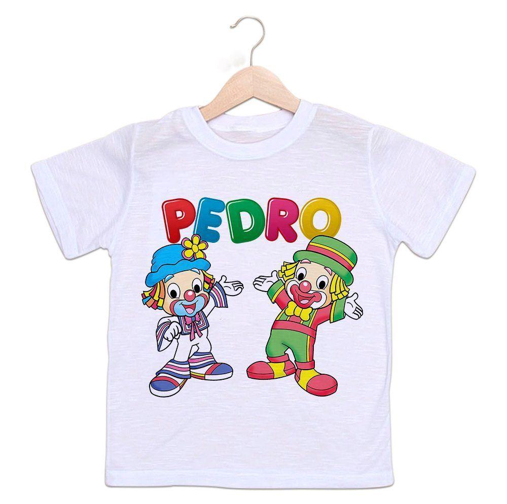 fe65d8845f Camiseta Personalizada Infantil Patati Patatá - Empório Camiseteria