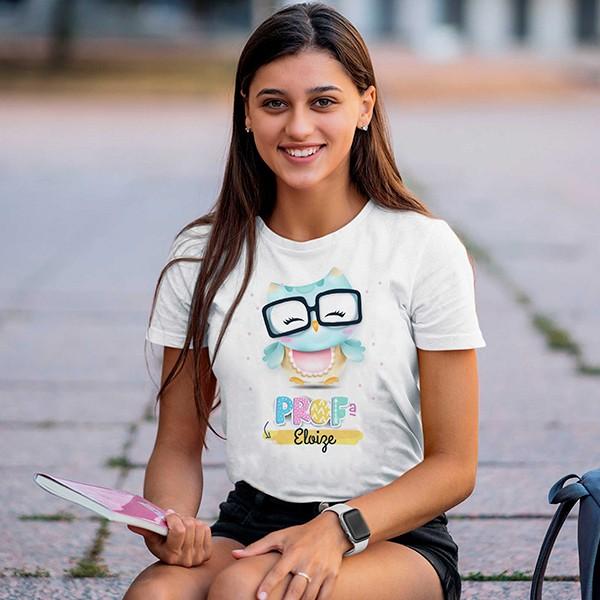 Camiseta Profissão Professora Personalizada - CA1157