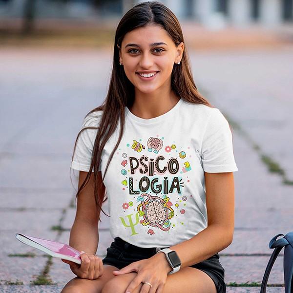 Camiseta Profissão Psicologia - CA1158