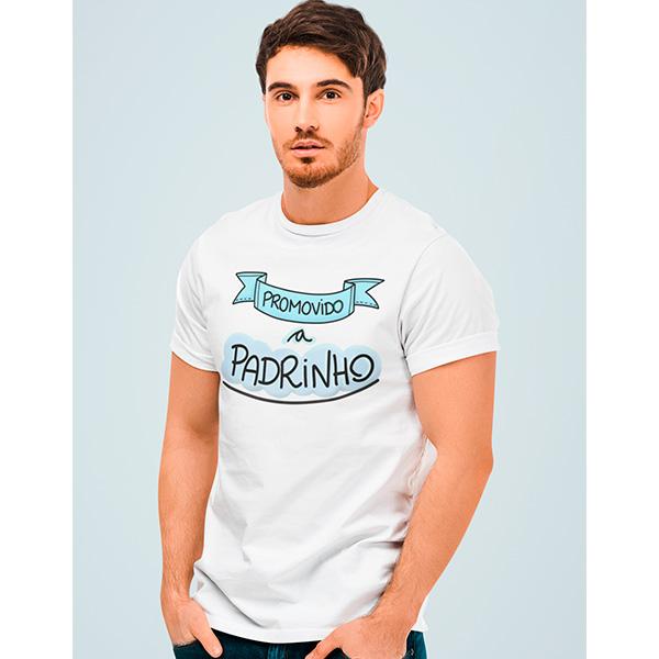 Camiseta Promovido a Padrinho - CA1262