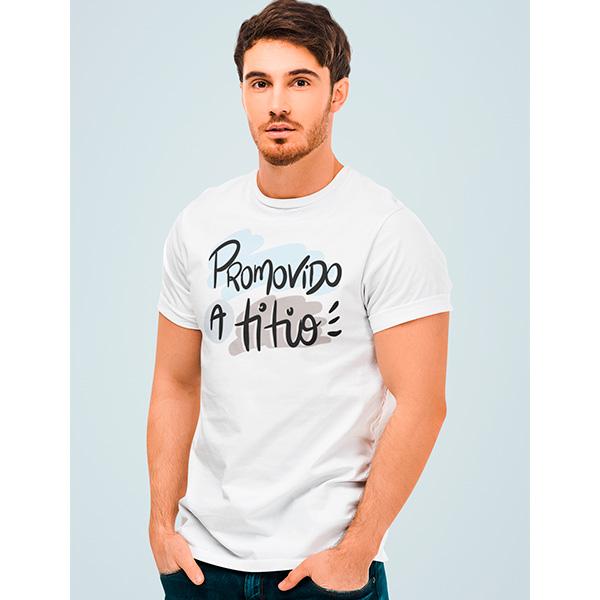 Camiseta Promovido a Titio - CA1274