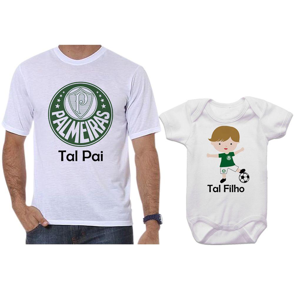 Camisetas e Body Tal Pai Tal Filho Palmeiras