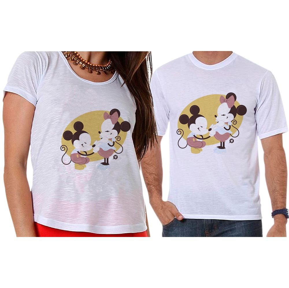 Camisetas Mickey e Minnie Grávidos