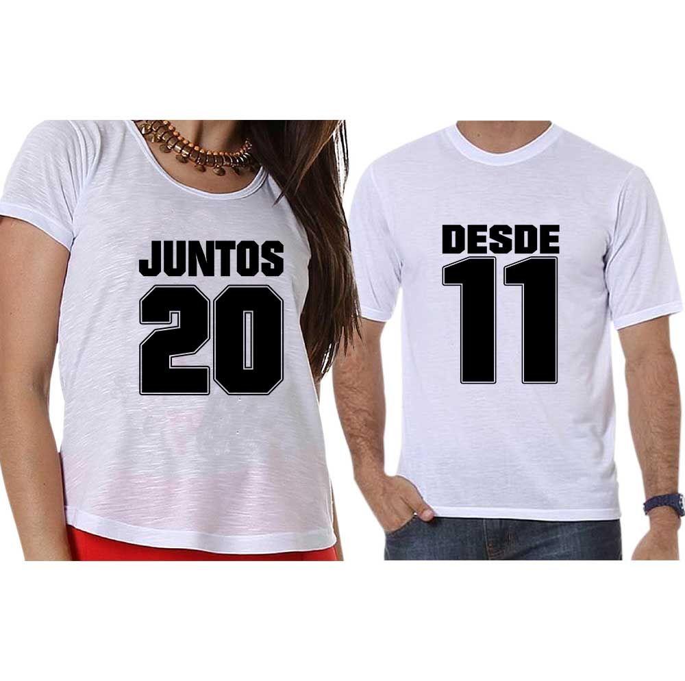 bdac49f77 Camisetas Personalizadas Juntos Desde - Empório Camiseteria