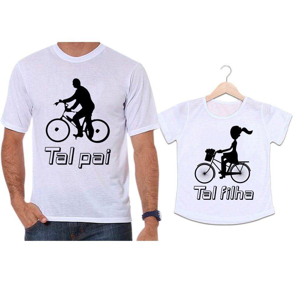 Camisetas Tal Pai Tal Filha Bicicleta