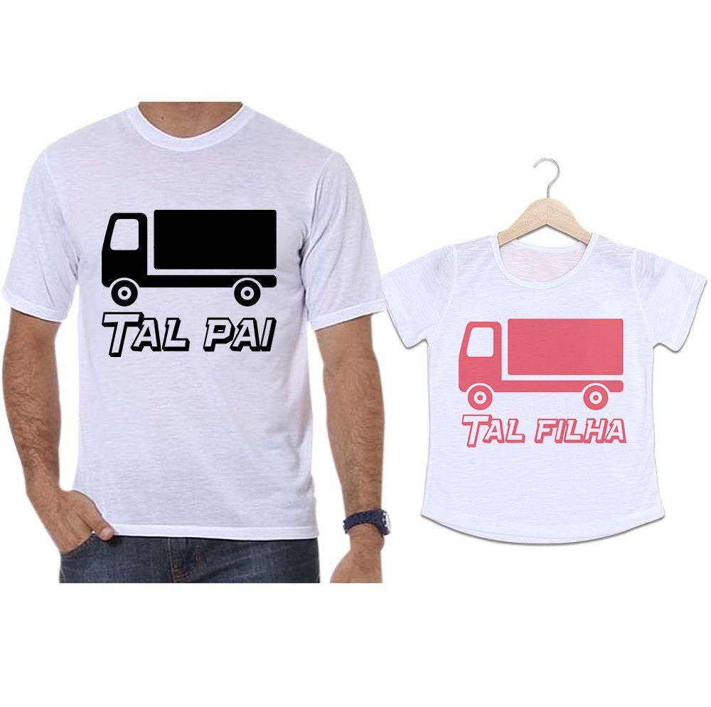Camisetas Tal Pai Tal Filha Caminhão
