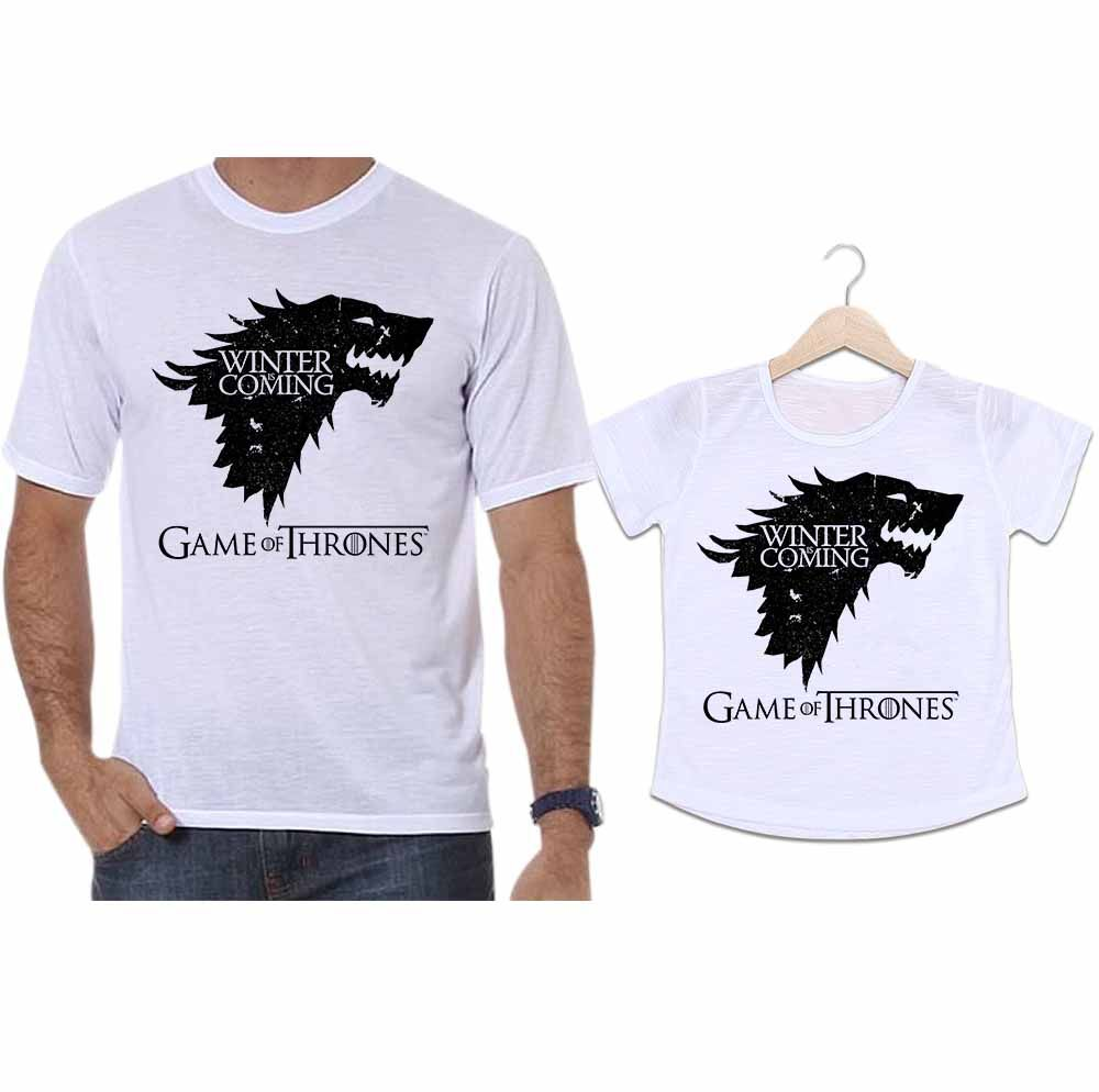 Camisetas Tal Pai Tal Filha Game Of Thrones