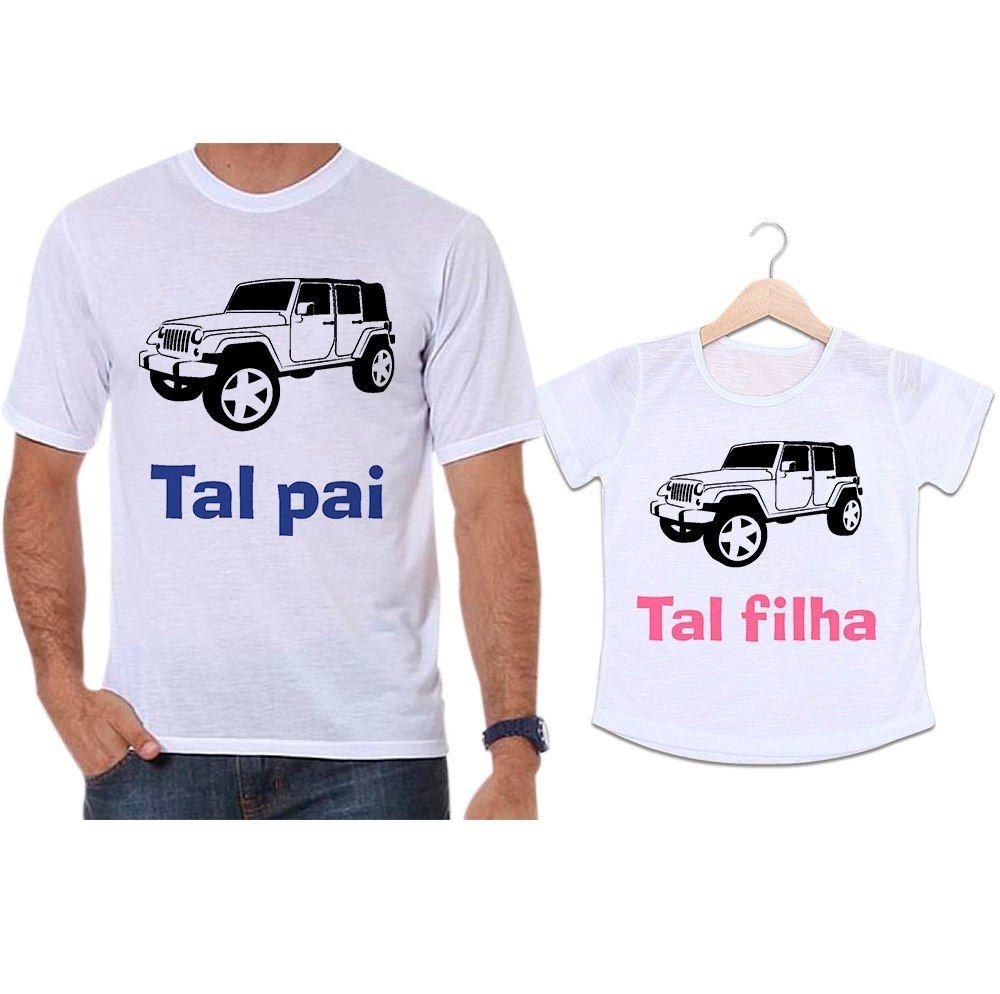 Camisetas Tal Pai Tal Filha Jeep