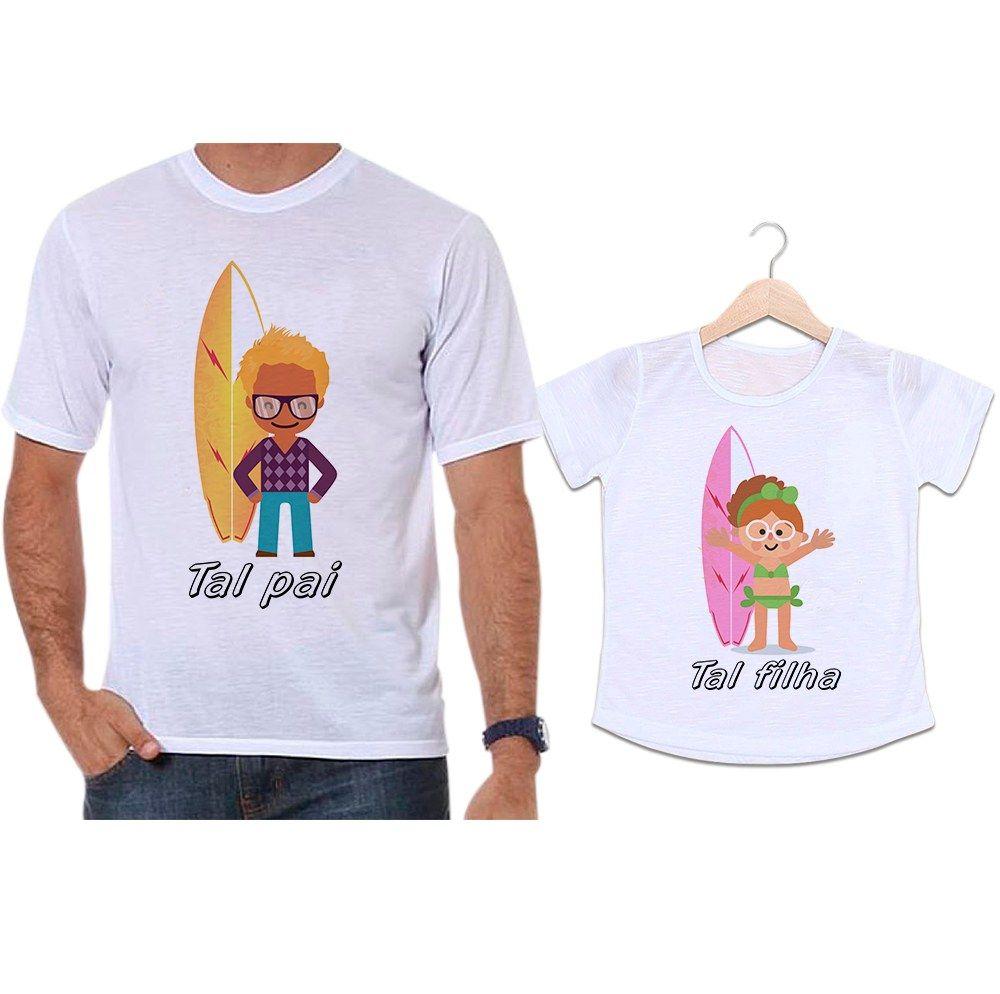 Camisetas Tal Pai Tal Filha Surfistas