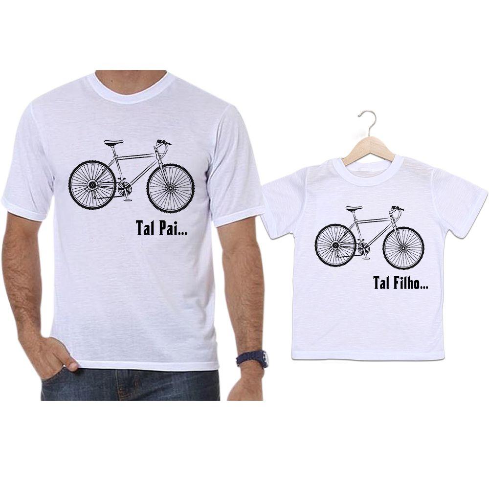 Camisetas Tal Pai Tal Filho Bicicleta