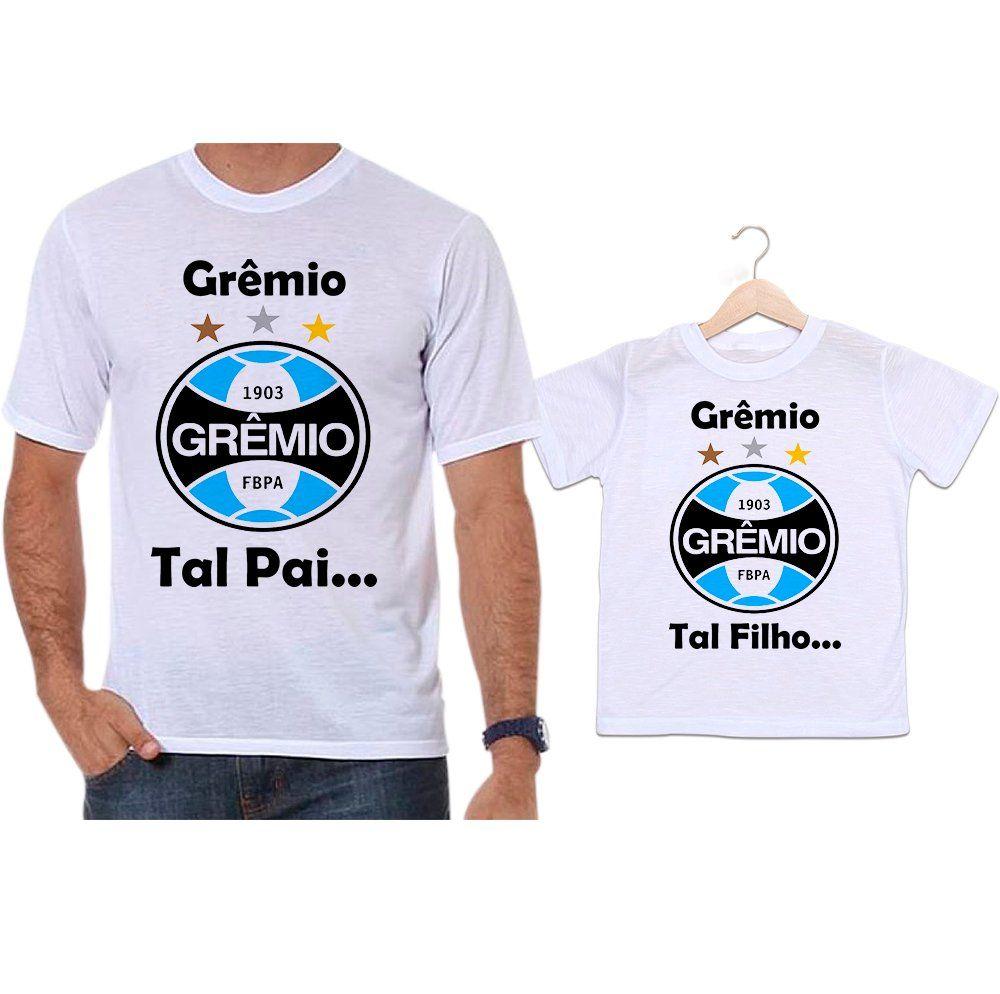 Camisetas Tal Pai Tal Filho Futebol Grêmio - Empório Camiseteria 54580cd708766